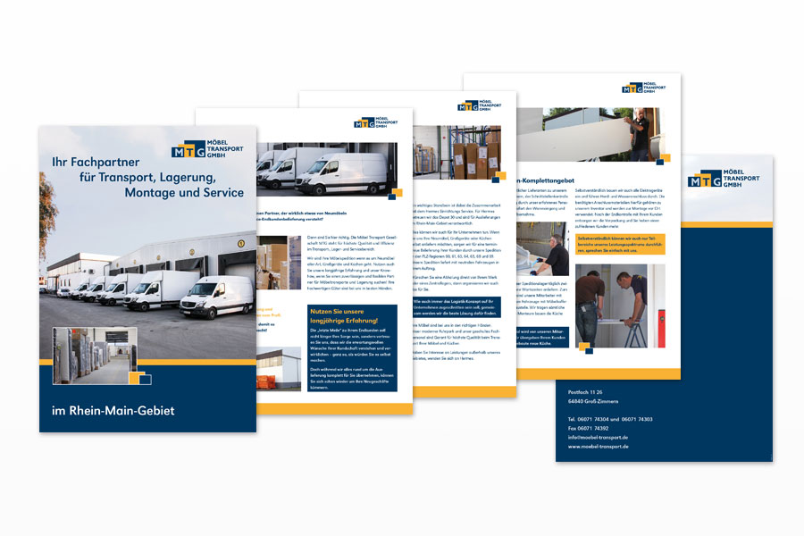 PDF-Flyer Möbel Transport GmbH
